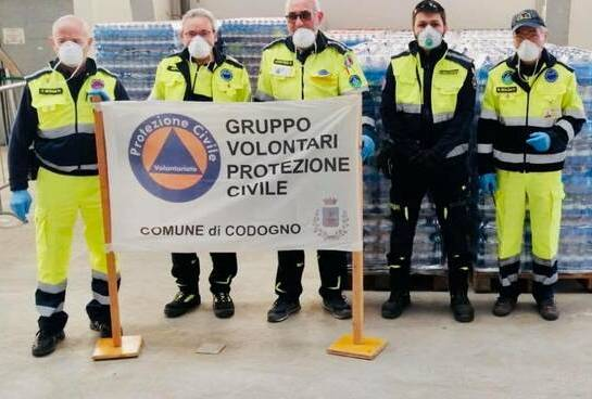 Support for the Civil Protection of Codogno
